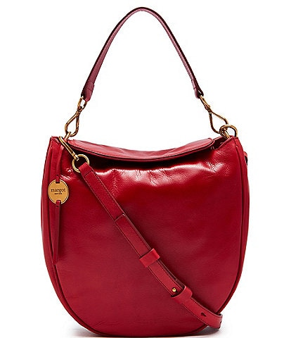 Margot Jace Leather Hobo Crossbody Bag
