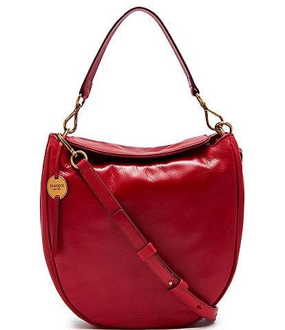 Margot Jace Leather Hobo Crossbody Bag