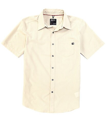 Marmot Aerobora Solid Stretch Short-Sleeve Woven Shirt