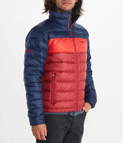 Marmot Ares Colorblock Down Puffer Jacket
