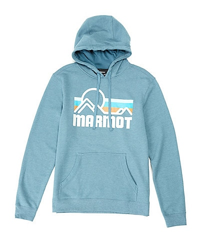 Marmot Coastal Logo Fleece Hoodie Tee