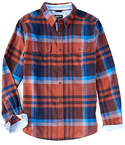Marmot Del Norte Midweight Flannel Long-Sleeve Woven Shirt