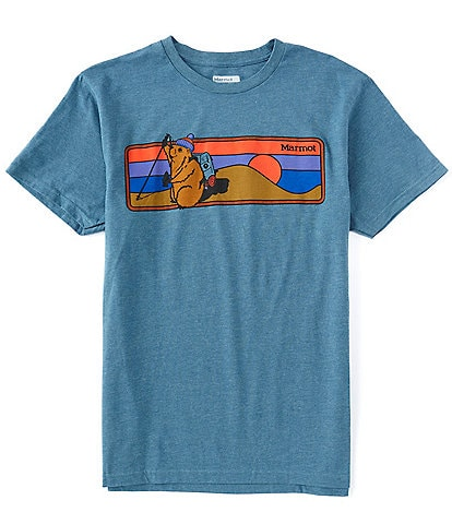 Marmot Hiking Marty Short-Sleeve Recycled Materials Tee