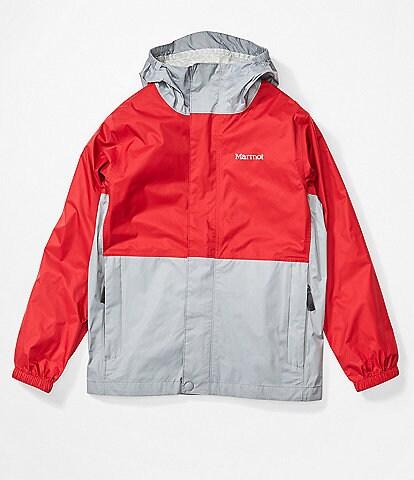 Marmot Little/Big Kids 4-15 Colorblock Precip Eco Rain Jacket