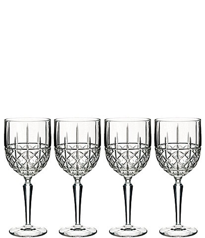 Marquis by Waterford 4-Piece Brady Crystal Wine Glass Set