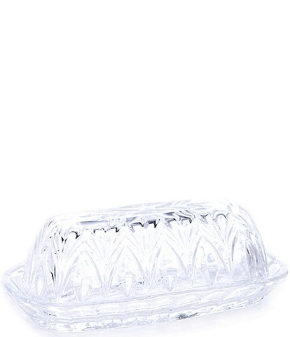 Marquis By Waterford Canterbury Covered Butter Dish
