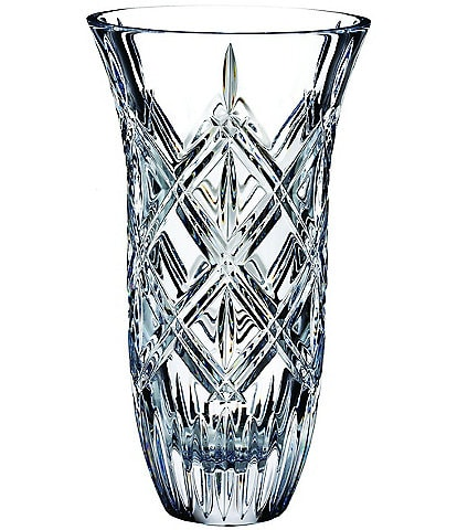 Marquis by Waterford Crystal Lacey 9#double; Vase
