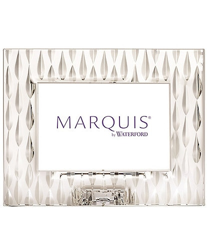Marquis by Waterford Rainfall Crystal 4x6 Frame