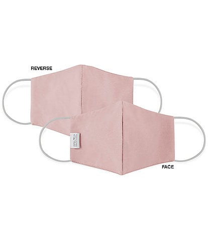 Martex OEKO-TEX & Triple-Layer with SILVERbac Antimicrobial Technology Solid Cloth Face Mask