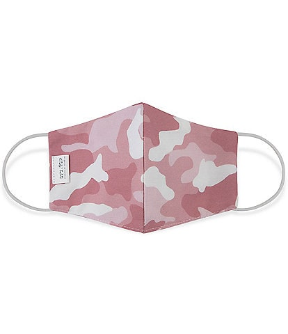 Martex OEKO-TEX & Triple-Layer with SILVERbac Antimicrobial Technology Blush Camo Cloth Face Mask