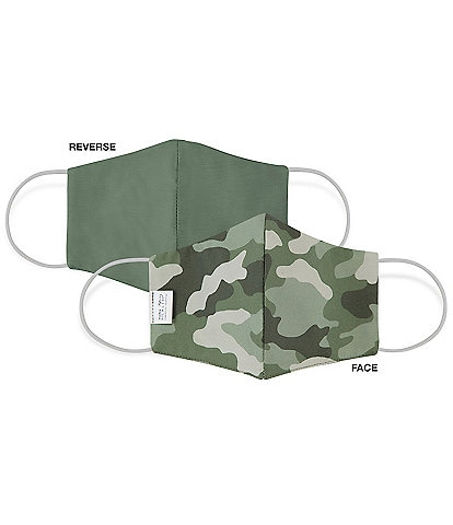 Martex OEKO-TEX & Triple-Layer with SILVERbac™ Antimicrobial Technology Olive Camo Cloth Face Mask