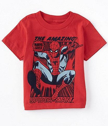 Marvel Little Boys 2T-7 Short-Sleeve The Amazing Spiderman Graphic Tee