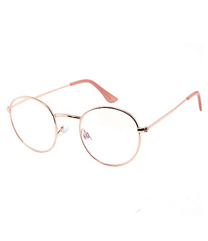 Marvy Amuse Round Blue Light Glasses