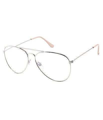 Marvy Clancy Aviator Blue Light Glasses