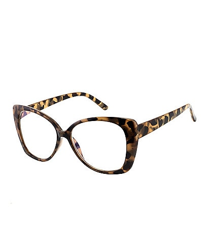 Marvy Tibby Tortoise Cat Eye Blue Light Glasses