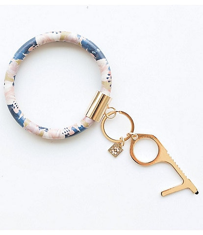 Mary Square Galilea Bracelet Key Ring with No Touch Utility Tool
