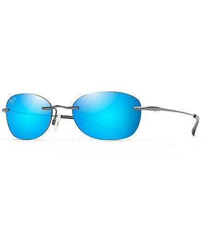Maui Jim Aki Aki PolarizedPlus2® Oval 50mm Sunglasses