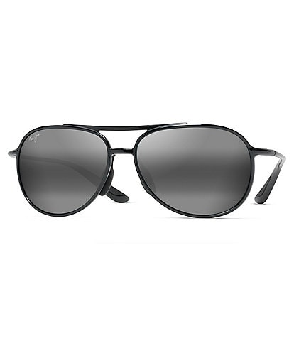 Maui Jim Alelele Bridge Polarized Aviator Sunglasses