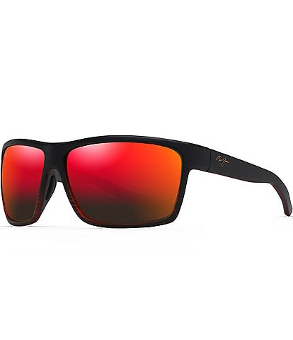 Maui Jim Alenuihaha PolarizedPlus2® Wrap 64mm Sunglasses