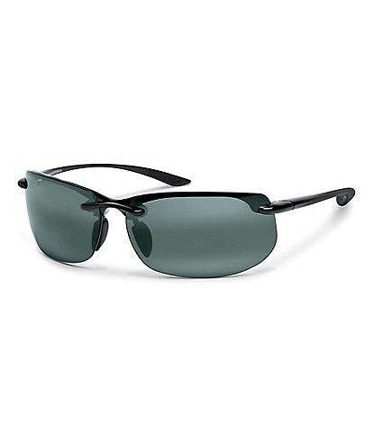 Maui Jim Banyans PolarizedPlus2® Rimless 70mm Sunglasses