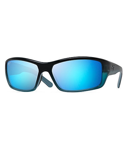 Maui Jim Barrier Reef PolarizedPlus2® Wrap 62mm Sunglasses