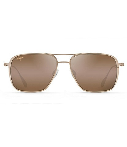 Maui Jim Beaches PolarizedPlus2® Aviator 57mm Sunglasses