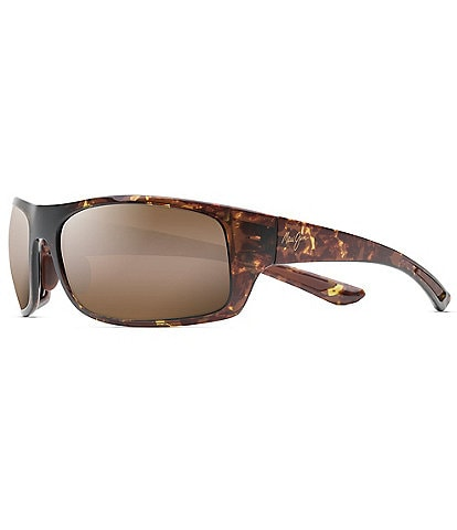 Maui Jim Big Wave PolarizedPlus2® Wrap 67mm Sunglasses