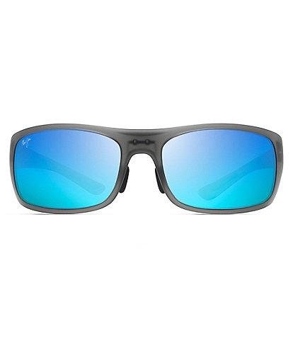 Maui Jim Big Wave PolarizedPlus2® Wrap 67mm Sunglasses
