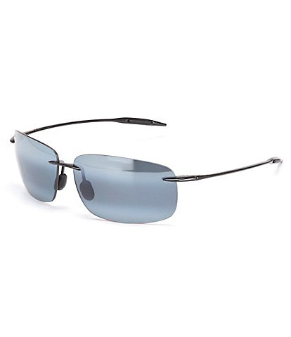 Maui Jim Breakwall Polarized Flash/Mirror Rectangle Sunglasses