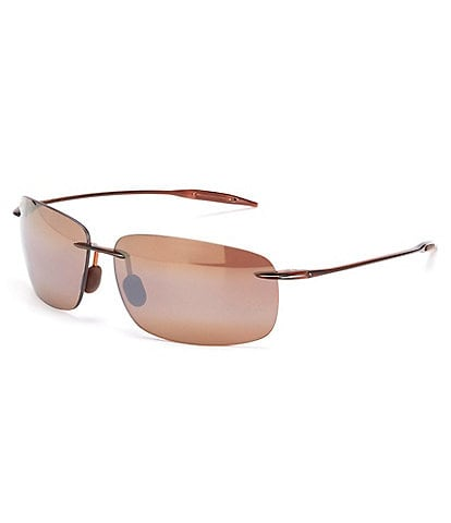 Maui Jim Breakwall PolarizedPlus2® Rimless 63mm Sunglasses