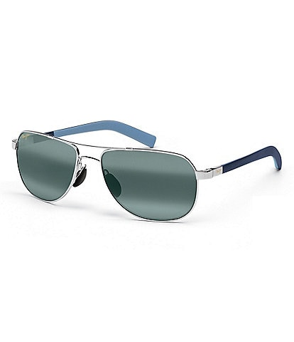 Maui Jim Guardrails PolarizedPlus2® Aviator 58mm Sunglasses
