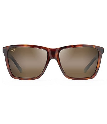 Maui Jim Cruzem PolarizedPlus2® Round 57mm Sunglasses