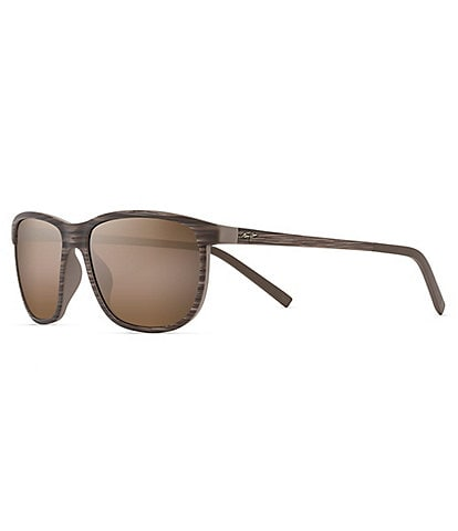 Maui Jim Dragon's Teeth Polarized Plus2® Classic 58mm Sunglasses