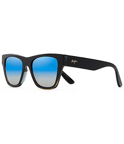 Maui Jim Ekolu PolarizedPlus2® Square 53mm Sunglasses