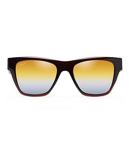 Maui Jim Ekolu PolarizedPlus2® Square 53mm Sunglasses
