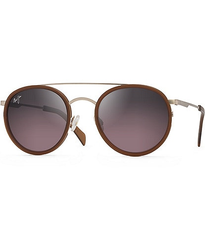 Maui Jim Even Keel Polarized Fashion Round Sunglasses
