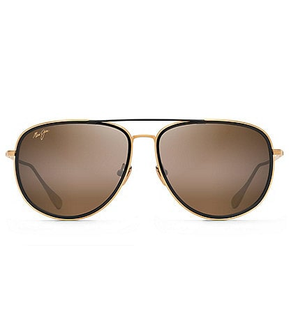 Maui Jim Fair Winds PolarizedPlus2® 58mm Aviator Sunglasses