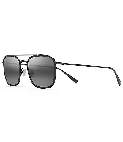 Maui Jim Following Seas PolarizedPlus2® 53mm Aviator Sunglasses