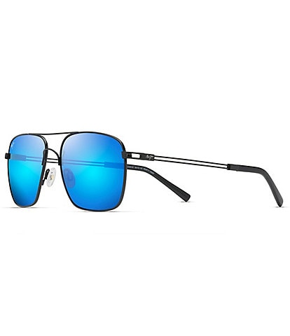 Maui Jim Haleiwa PolarizedPlus2® Aviator 56mm Sunglasses