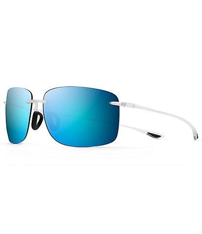 Maui Jim Hema Polarized Rimless Sunglasses