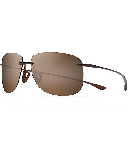 Maui Jim Hikina PolarizedPlus2® Rimless 62mm Sunglasses