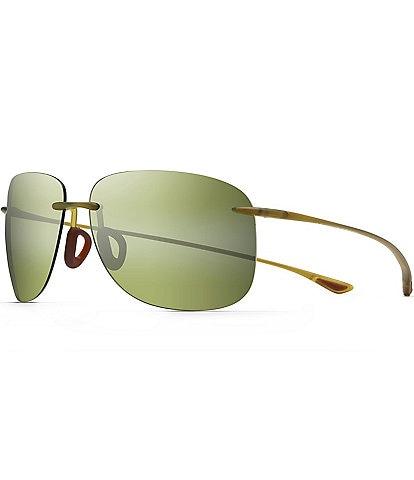 Maui Jim Hikina PolarizedPlus2® Rimless 62mm Sunglasses