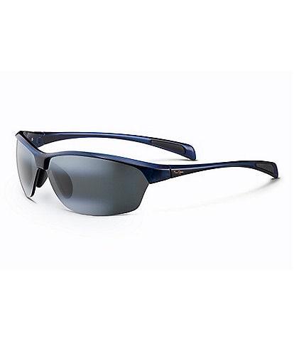 Maui Jim Hot Sands PolarizedPlus2® Rimless 71mm Sunglasses