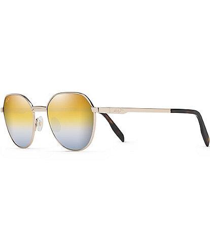 Maui Jim Hukilau PolarizedPlus2® Round 52mm Sunglasses