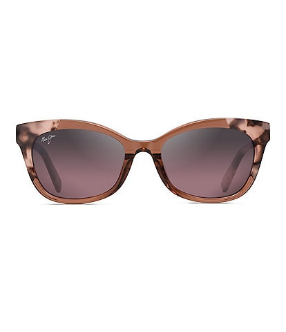 Maui Jim Ilima PolarizedPlus2® Cat Eye 53mm Sunglasses