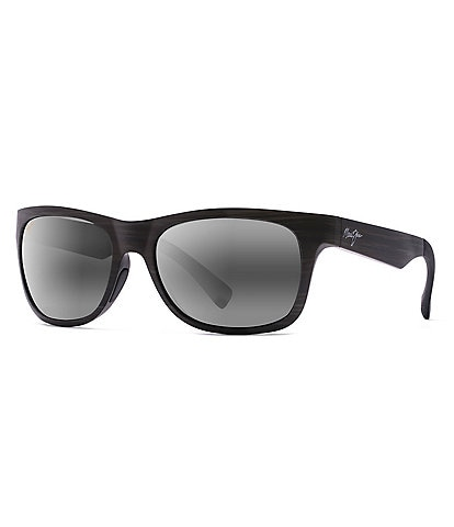 Maui Jim Kahi PolarizedPlus2® Wrap 57.5mm Sunglasses
