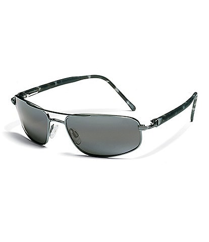 Maui Jim Kahuna Double Bridge Glare and UV Protection Polarized Sunglasses