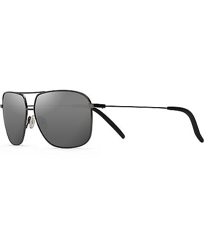 Maui Jim Kami Polarized Aviator Sunglasses