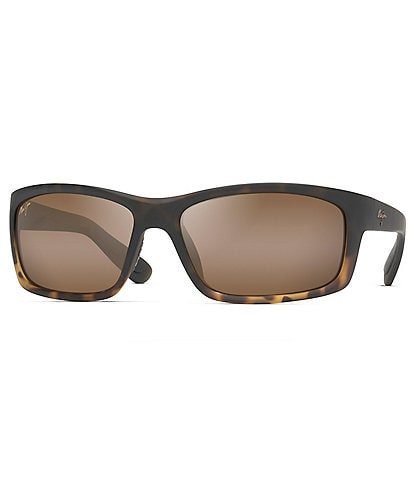 Maui Jim Kanaio Polarized Wrap Sunglasses