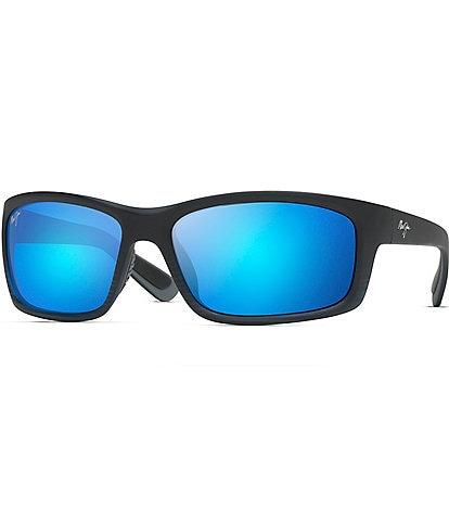 Maui Jim Kanaio Polarized Wrap Sunglasses